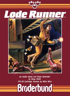 <i>Lode Runner</i> 1983 2D puzzle platform video game