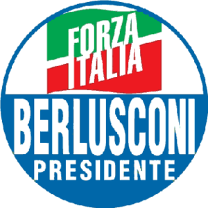 The logo of Forza Italia used in the 2006 elec...