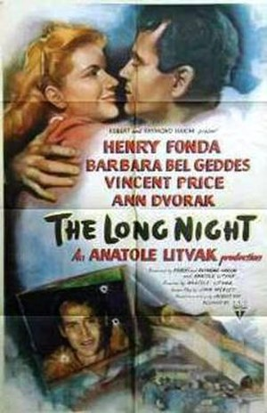 The Long Night (1947 film) - theatrical release poster