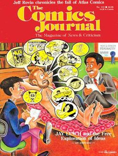 <i>The Comics Journal</i> magazine from the United States