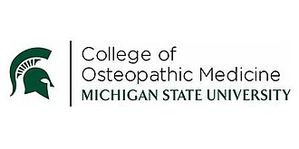 Michigan State University College of Osteopathic Medicine - Image: MSUCOM School Name and Spartan seal