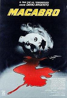<i>Macabre</i> (1980 film) 1980 Italian horror film directed by Lamberto Bava