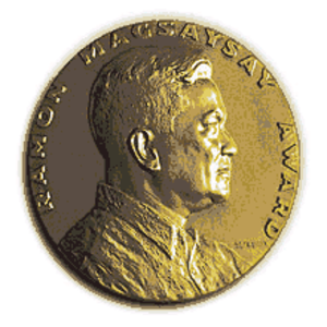 Ramon Magsaysay Award - Image: Magsaysay award medal