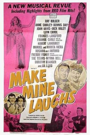 Make Mine Laughs - Theatrical release poster