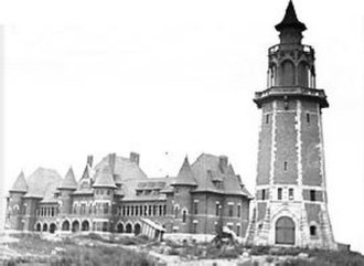 Massillon, Ohio - Massillon State Hospital in early 1900s