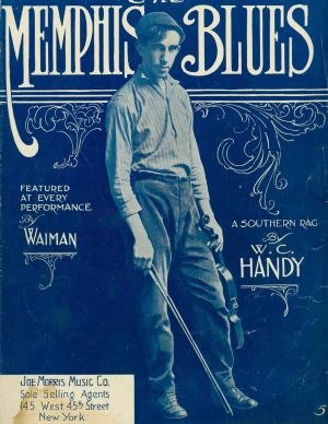 The Memphis Blues - Image: Memphis Blues 1912