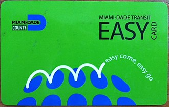 Miami-Dade Transit - The EASY Card was implemented in 2009, and allows for fast and seamless transfers between Metrorail, Tri-Rail, Metromover and Metrobus.