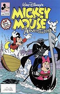 <i>Mickey Mouse Adventures</i> 1990-1991 Disney comic book