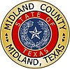 Official seal of Midland County