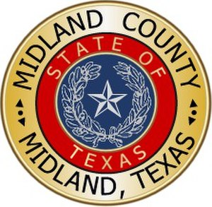 Midland County, Texas - Image: Midland County tx seal
