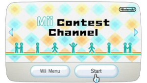 Check Mii Out Channel - Mii Contest Channel (Check Mii Out Channel in North America) in Wii Menu