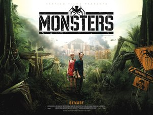 Monsters (2010 film) - Theatrical release poster