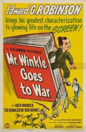 Mr. Winkle Goes to War - Image: Mr. Winkle Goes to War Film Poster