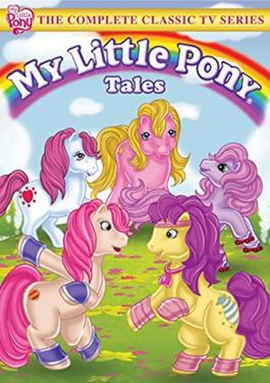 My Little Pony Tales - DVD Cover