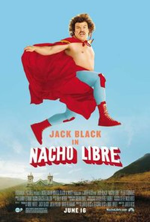 Nacho Libre - Theatrical release poster