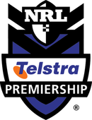 The Telstra Premiership logo.