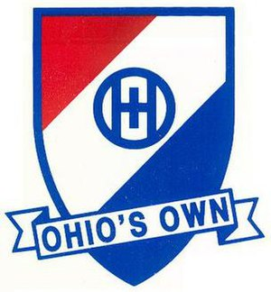 Ohio Military Reserve - Image: Ohio Military Reserve Crest