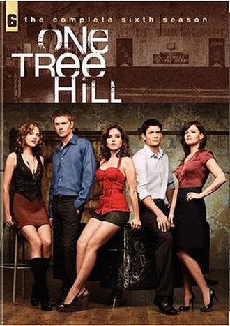 One Tree Hill (season 6) - One Tree Hill Season 6 DVD cover