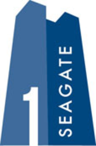 One SeaGate - The current logo of One SeaGate.