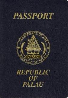 Palauan passport passport