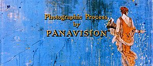 Panavision - Screenshot of The Big Fisherman (1959), the first film released using the Super Panavision 70 process. The image shows the 2.20:1 aspect ratio in which the film was presented.