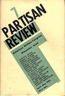 <i>Partisan Review</i> leftist arts and politics magazine