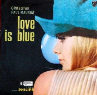L'amour est bleu - Image: Paul Mauriat Love Is Blue