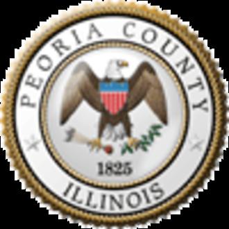 Peoria County, Illinois - Image: Peoria County il seal