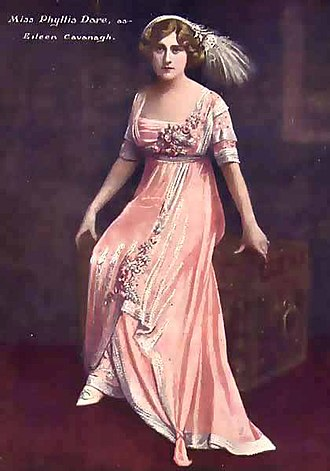 Edwardian musical comedy - Phyllis Dare in The Arcadians