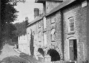 Medway watermills (middle tributaries) - Winfield Mill c. 1940