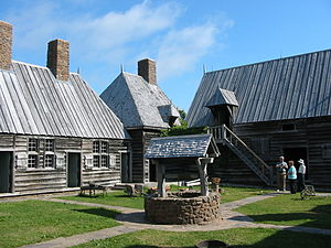 Port-Royal National Historic Site - The replica at Port-Royal National Historic Site