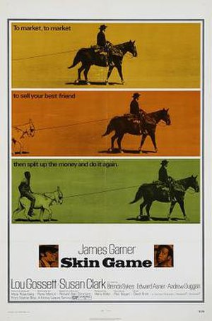 Skin Game - Theatrical poster