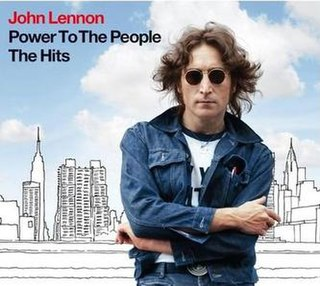 <i>Power to the People: The Hits</i> 2010 greatest hits album by John Lennon