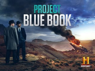 <i>Project Blue Book</i> (TV series) 2019 American historical drama television series