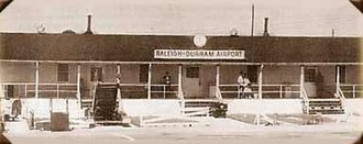 Raleigh–Durham International Airport - Early photo of Raleigh–Durham Airport