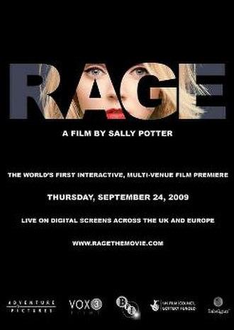 Rage (2009 American film) - Film poster