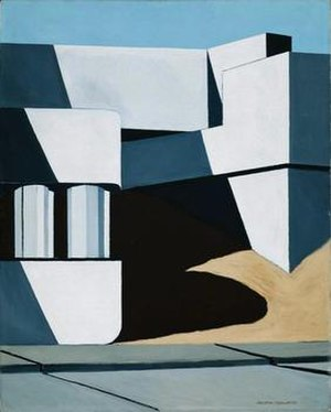Ralston Crawford - Maitland Bridge -2, 1938, Museum of Fine Arts, Boston