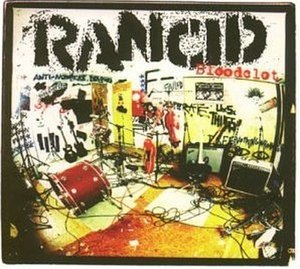 Bloodclot (song) - Image: Rancid Bloodclot cover