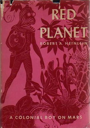 Red Planet (novel) - The cover illustration by Clifford Geary for the original 1949 edition