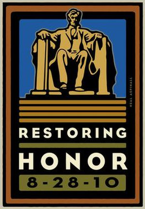 Restoring Honor rally - Image: Restoring honor rally