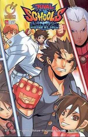 Rival Schools: United by Fate - Image: Rival Schools comic cover