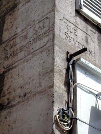 Rue Saint-Séverin, Paris - Image: Rue saint severin 6 jms