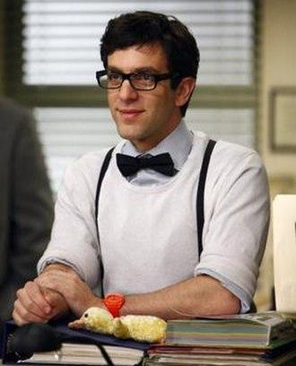 Ryan Howard (The Office) - Ryan's new look, beginning in season 6.