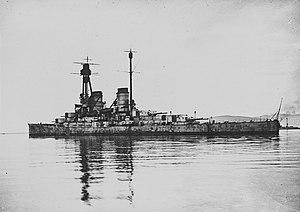 SMS Hindenburg - Hindenburg in Scapa Flow