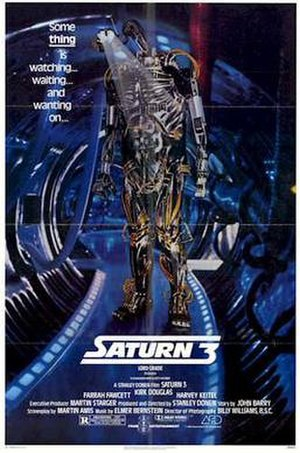 Saturn 3 - Theatrical release poster