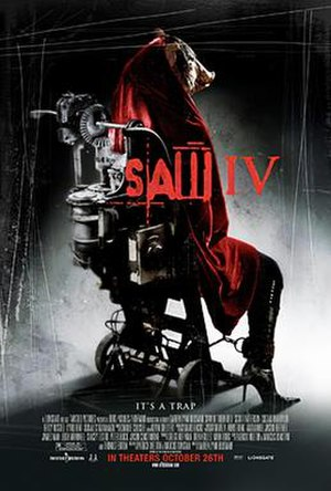 Saw IV - Promotional poster