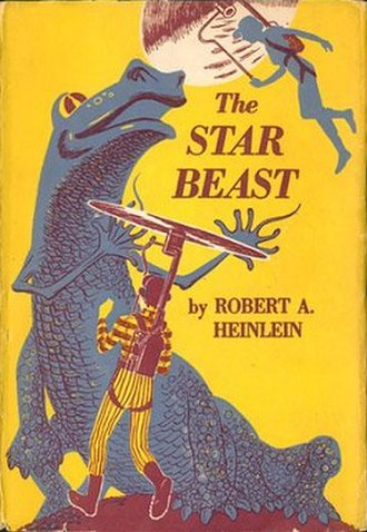 The Star Beast - First edition cover for The Star Beast