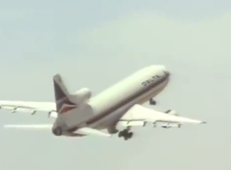 Fire and Rain (film) - The film's utilized images of Delta's Lockheed L-1011 fleet, which had the same livery throughout the 28-year span of service with the airline.