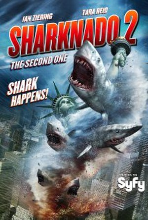 Sharknado 2: The Second One - Theatrical release poster