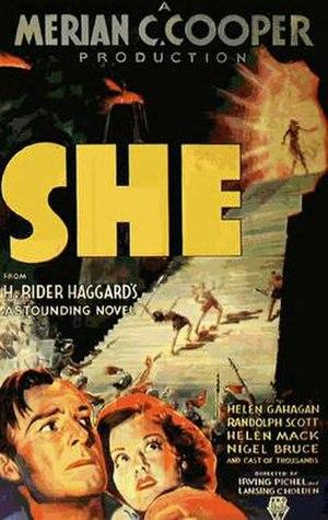 She (1935 film) - Image: She (1935)